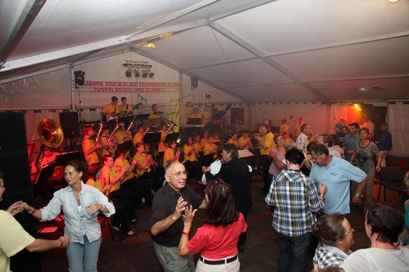 Unterhaltungskonzert in Klinga am 08. September 2012