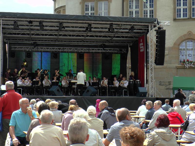 Unterhaltungskonzert zum Stadtfest in Döbeln am 22.06.2014