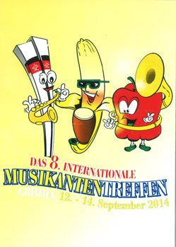 "DVD ""Das 8. Internationale Musikantentreffen 2014"" - 2014"