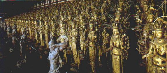 Sanjusangendo - Tempel mit 1001 Statuen