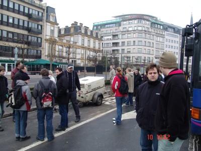 Unser Tagesausflug nach Luxemburg war schon eine Abwechslung von dem ganzen Stress,