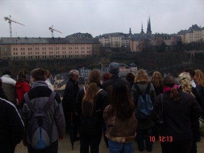raus aus den Kasematten, mit Blick auf die Altstadt.